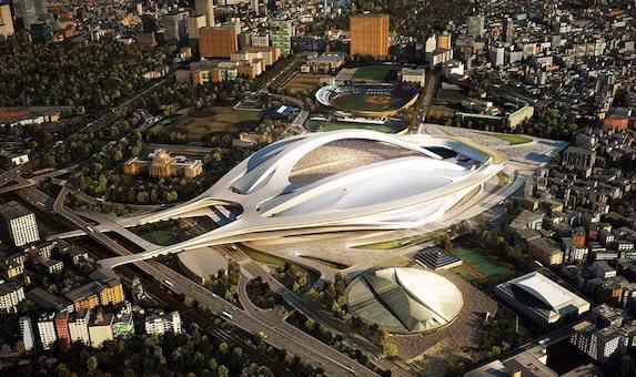 建築家 ザハ ハディドの日本の国立競技場のコンペの経緯