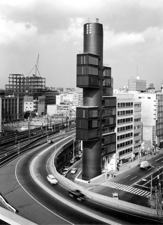 静岡新聞・静岡放送東京支社ビル(1967) 丹下健三