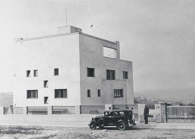 ヴィラ・ミュラー 建築家 アドルフ・ロース