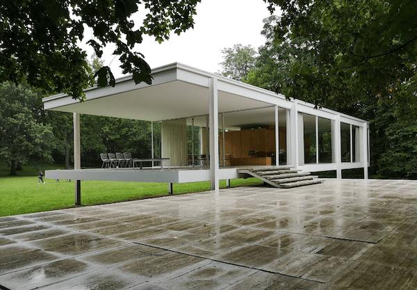 ファンズワース邸 建築家 ミース・ファン・デル・ローエ