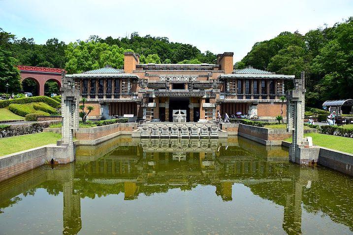 旧帝国ホテル本館(ライト館) 建築家 フランク・ロイド・ライト