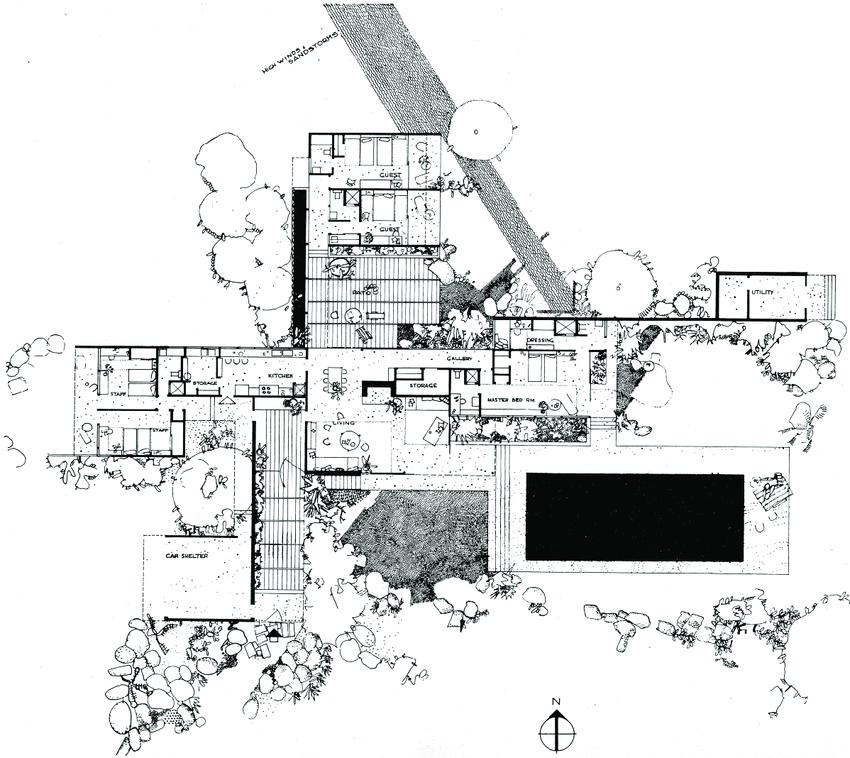カウフマン邸 建築家 リチャード・ノイトラ