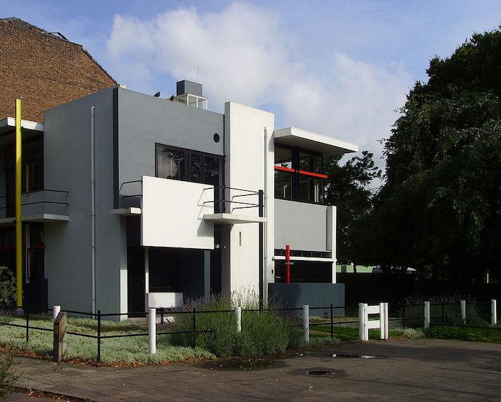 シュレーダー邸 建築家 ヘリット・リートフェルト