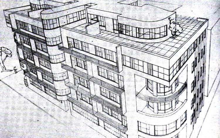 ノヴォコムン集合住宅 建築家 ジュゼッペ・テラーニ