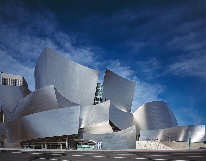 ウォルト・ディズニー・コンサートホール 建築家 フランク・ゲーリー