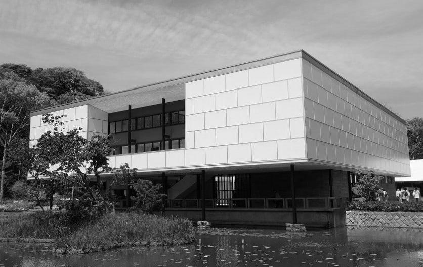 神奈川県立近代美術館(鎌倉文華館鶴岡ミュージアム) 建築家 坂倉準三
