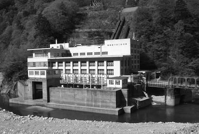 日本電力黒部川第二発電所・小屋平ダム 建築家 山口文象
