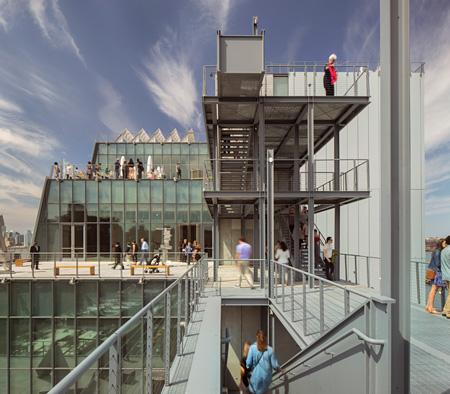新ホイットニー美術館(こちらはレンゾ・ピアノ設計)