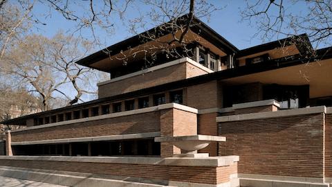 ロビー邸 建築家 フランク・ロイド・ライト