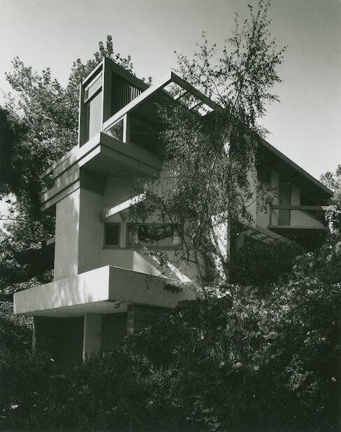 ティシュラー邸 建築家 ルドルフ・シンドラー