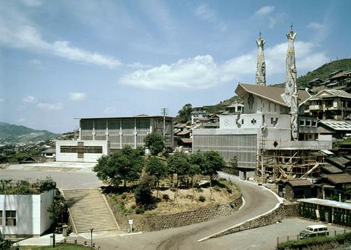 1962 日本二十六聖人殉教記念館 建築家 今井兼次