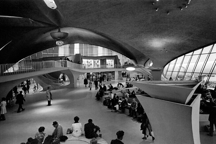 1962 TWAターミナル(ジョン・F・ケネディ空港) 建築家 エーロ・サーリネン