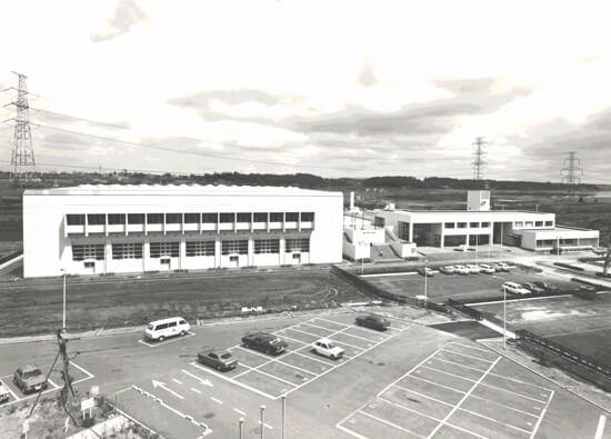 1977 柏中央体育館及び保健センター 建築家 伊藤喜三郎