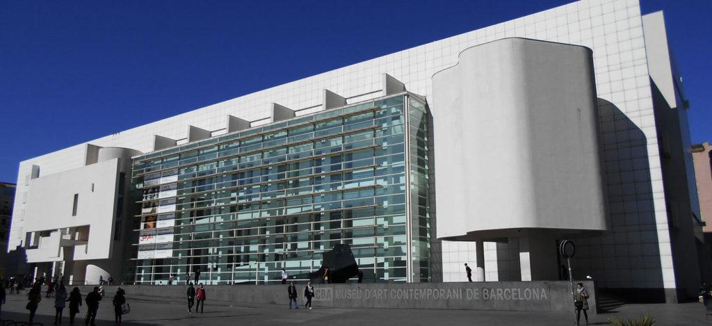 1995 バルセロナ現代美術館 建築家 リチャード・マイヤー