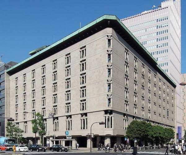 1963 日生劇場 建築家 村野藤吾