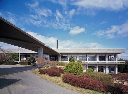 1959 大多喜町役場 建築家 今井兼次