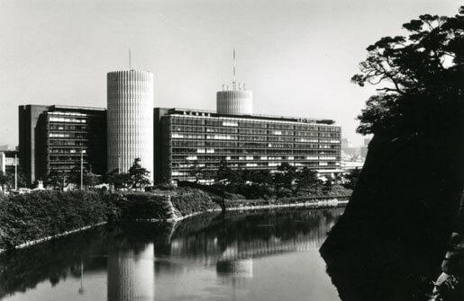 1966 パレスサイドビルディング 建築家 林昌二