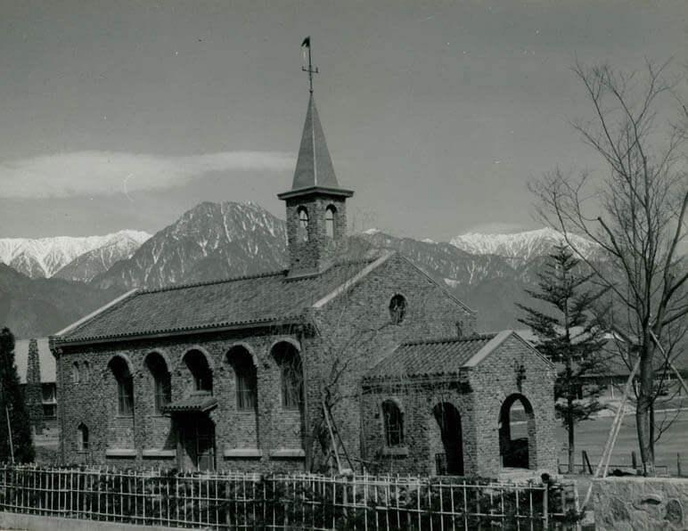 1957 碌山美術館 建築家 今井兼次