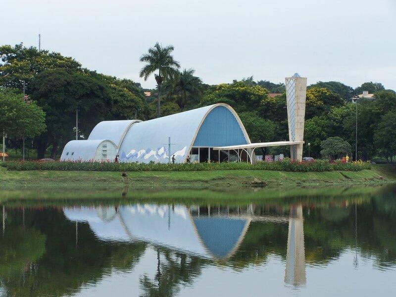 オスカー・ニーマイヤー設計 ブラジル サン・フランシスコ礼拝堂 建築家 村野藤吾