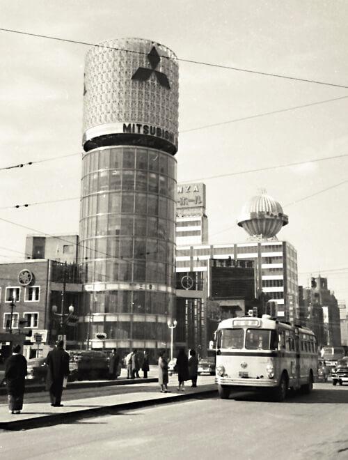 1962 三愛ドリームセンター 建築家 林昌二