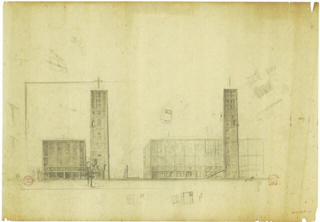 1954 世界平和記念聖堂 建築家 村野藤吾