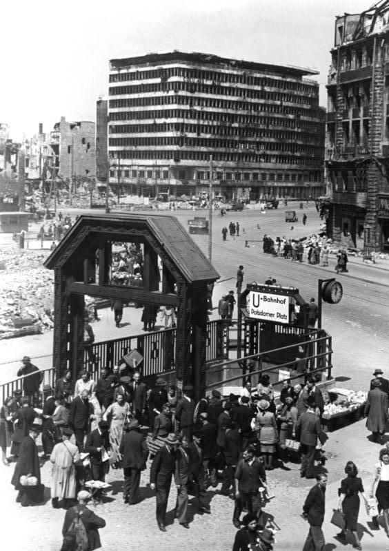 1945 コルンブスハウス 建築家 エーリヒ・メンデルゾーン