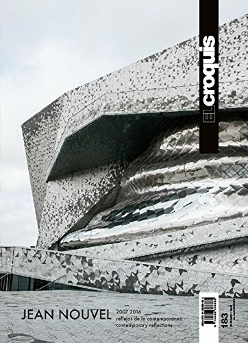 El Croquis 183 - Jean Nouvel 2007-2016 Contemporary Reflections 建築家 ジャン・ヌーヴェル