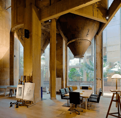 1973 La Fabrica : cement factory home and studio 建築家 リカルド・ボフィル