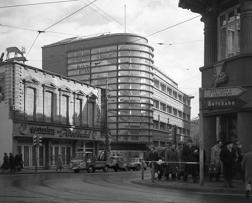ショッケン百貨店 建築家 エーリヒ・メンデルゾーン