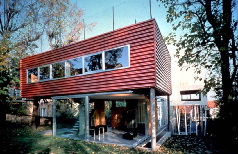 1991 ヴィラ・ダラヴァ 建築家 レム・コールハース