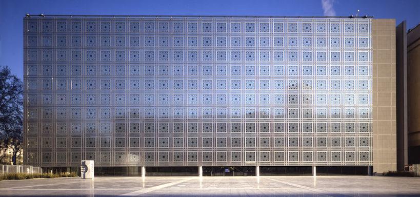1987 アラブ世界研究所 建築家 ジャン・ヌーヴェル