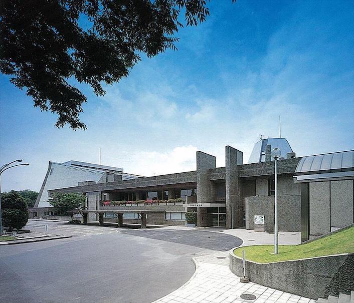 1968 千葉県文化会館 建築家 大高正人
