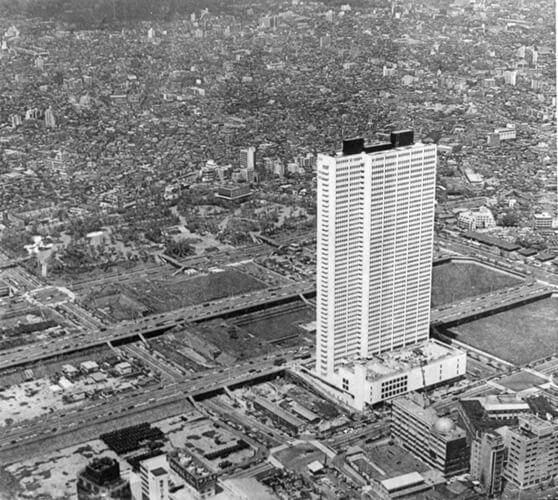 1971 京王プラザホテル 建築家 池田武邦