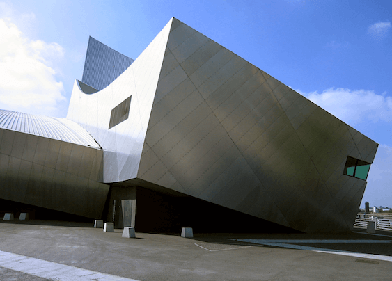 2001 帝国戦争博物館 建築家 ダニエル・リベスキンド