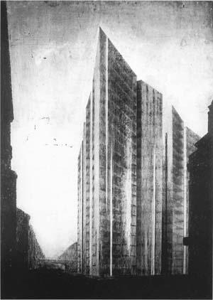 ルートヴィヒ・ミース・ファン・デル・ローエの概念図