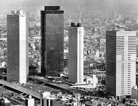 1974 新宿三井ビル 建築家 池田武邦