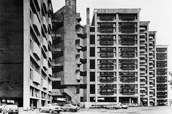 1976 市営基町高層アパート 建築家 大高正人