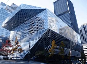 2004 シアトル中央図書館 建築家 レム・コールハース