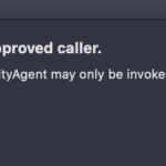 Security Agentエラー