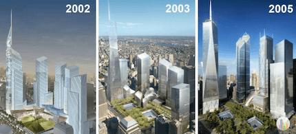2002 ワールド・トレード・センター・マスタープラン 建築家 ダニエル・リベスキンド