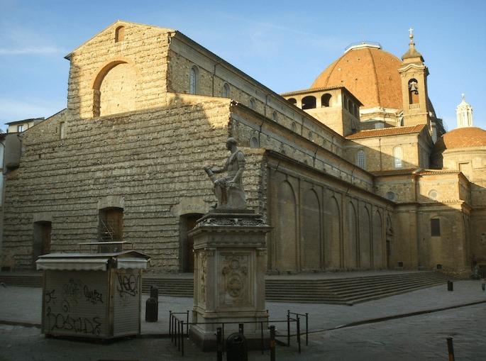 1518-1520 サン・ロレンツォのファサード 建築家 ミケランジェロ・ブオナローティ