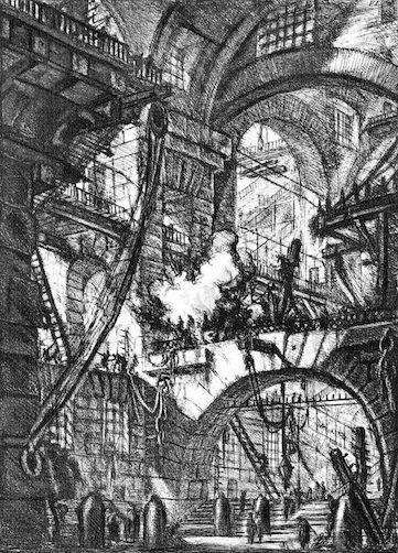 1748-1774 牢獄 建築家 ジョヴァンニ・バッティスタ・ピラネージ