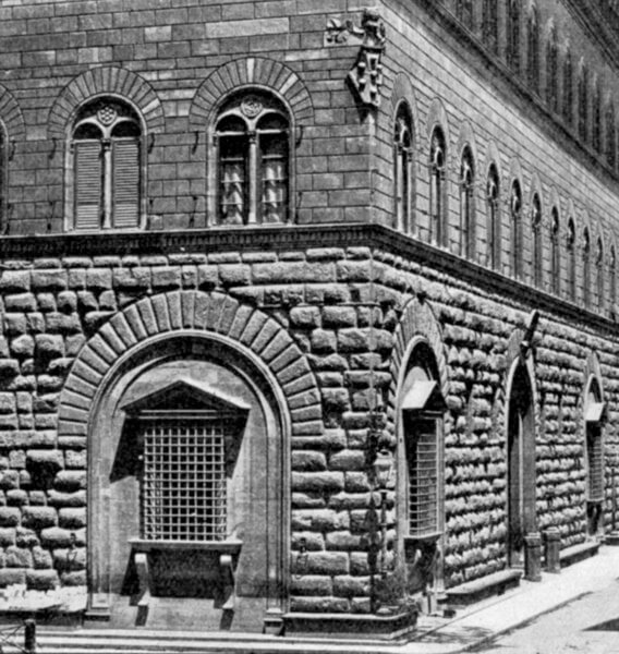 1517 メディチ・リッカルディ宮殿の改良  建築家 ミケランジェロ・ブオナローティ