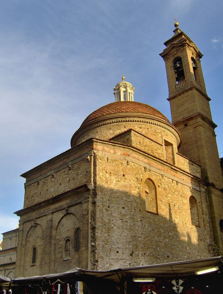 1520-1534 メディチ家礼拝堂新聖具室 建築家 ミケランジェロ・ブオナローティ