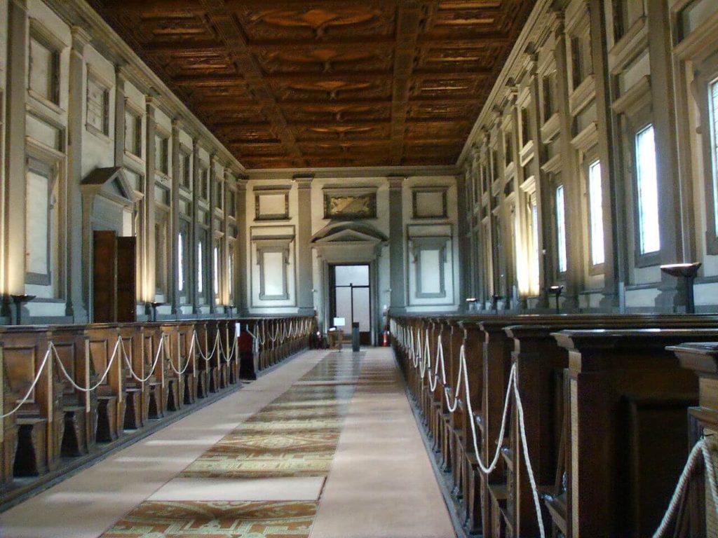 1523-1559 ロレンツォ・メディチ図書館 建築家 ミケランジェロ・ブオナローティ
