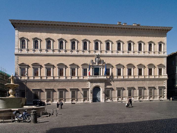 1546 ファルネーゼ宮殿 建築家 ミケランジェロ・ブオナローティ