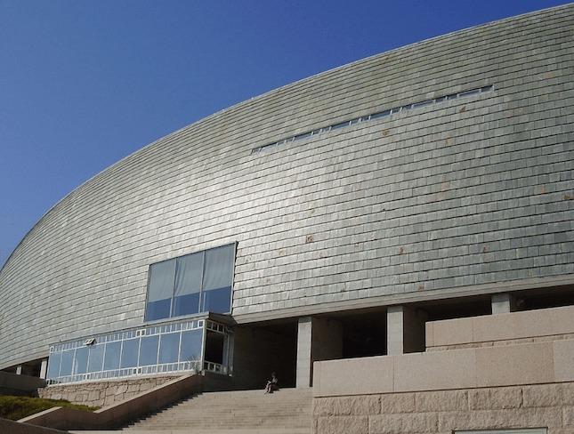 1995 ア・コルーニャ人間科学館(Casa del Hombre)/磯崎新と共同設計 建築家 セザール・ポルテラ