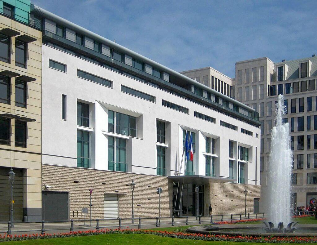 1997-2003 Embassy of France, Berlin 建築家 クリスチャン・ド・ポルザンパルク