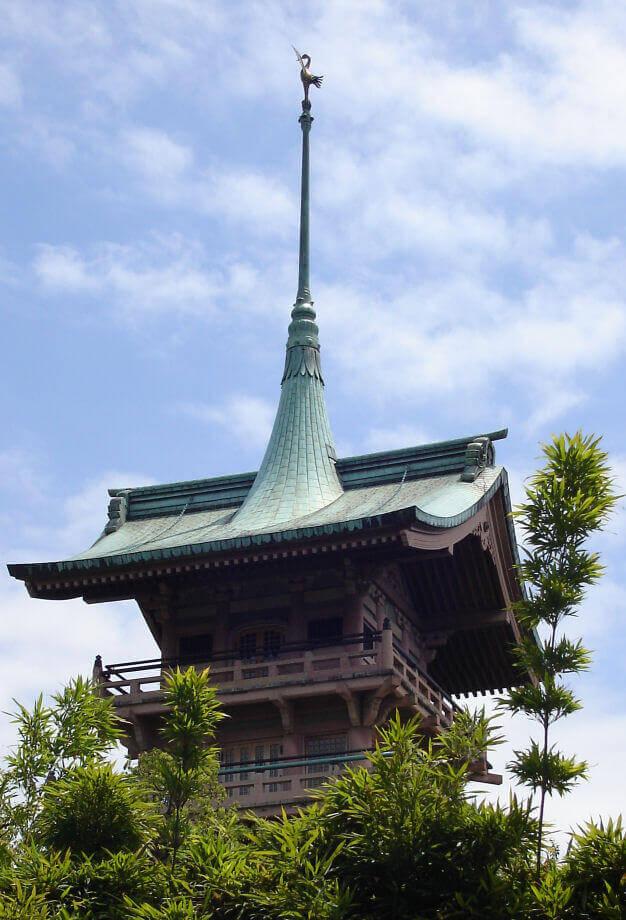 1927 祇園閣 建築家 伊東忠太