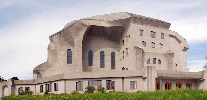 1928 セカンド・ゲーテアヌム 建築家 ルドルフ・シュタイナー
